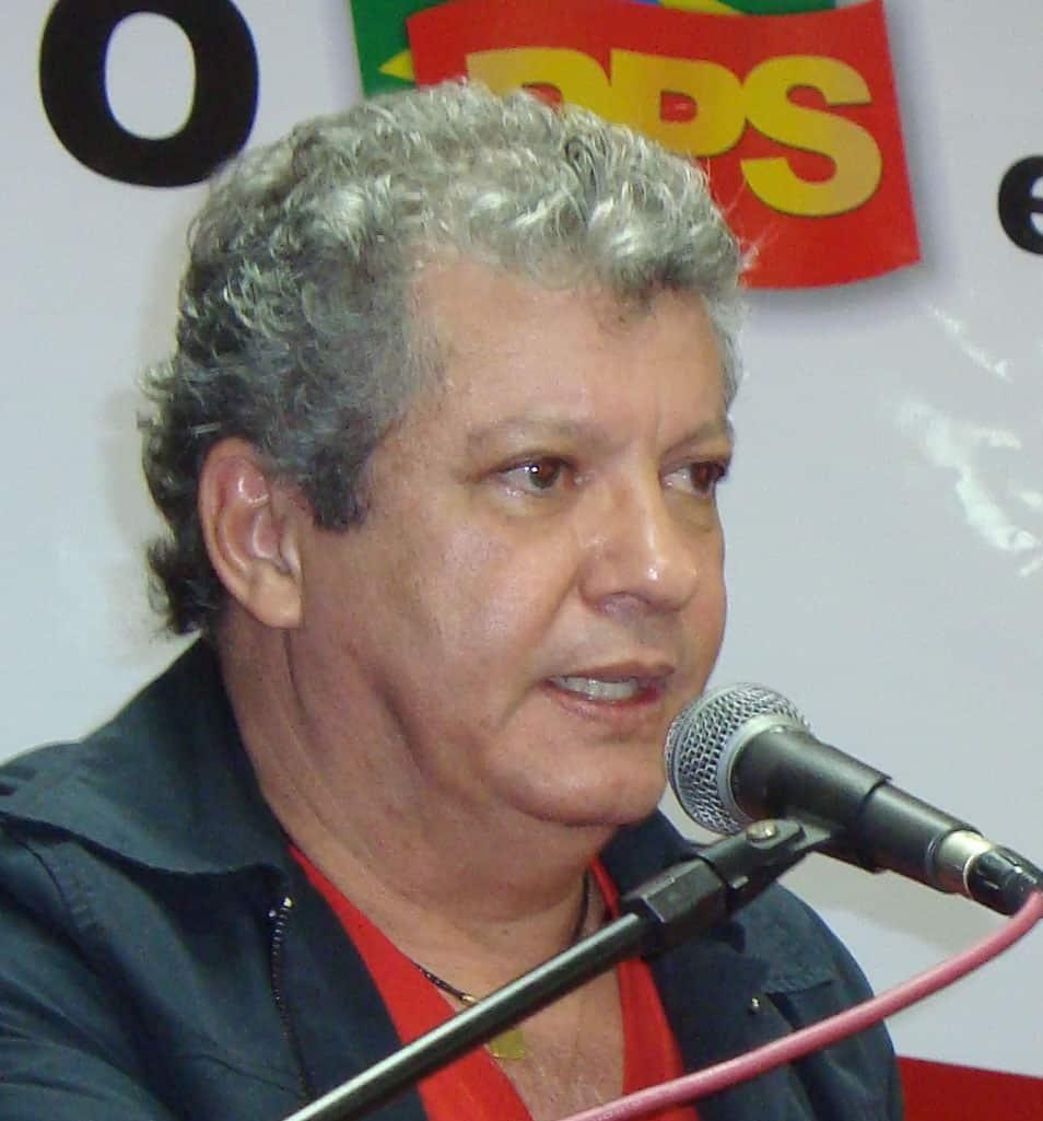 Orly Gomes, prefeito eleito.