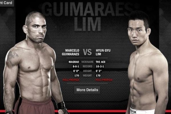 Capixaba tem chance no UFC. Foto: Divulgação.