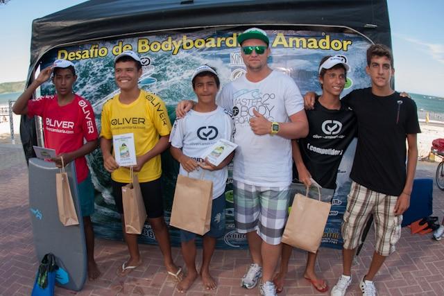 Vendecedores do Sub-15. Foto: Divulgação.