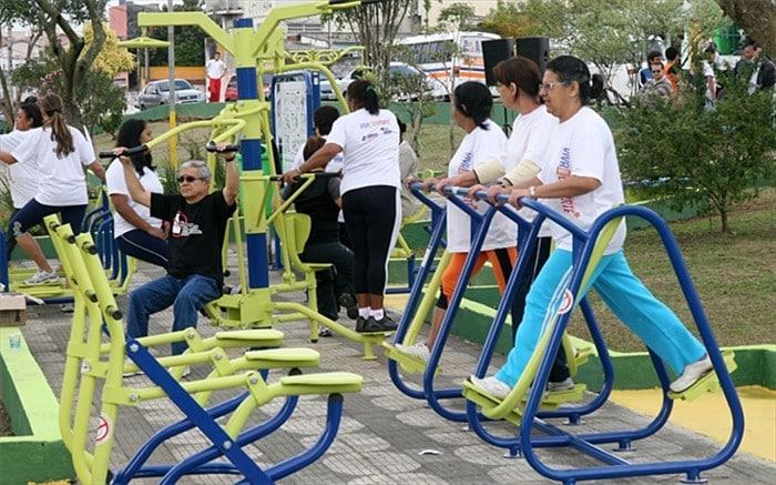 Em breve, a população poderá utilizar os equipamentos. Foto: ASCOM/Prefeitura de Alfredo Chaves.