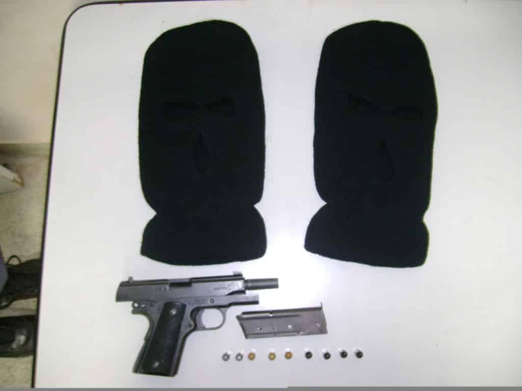 Toca ninja também foi encontrada. Foto: Assessoria da PM.
