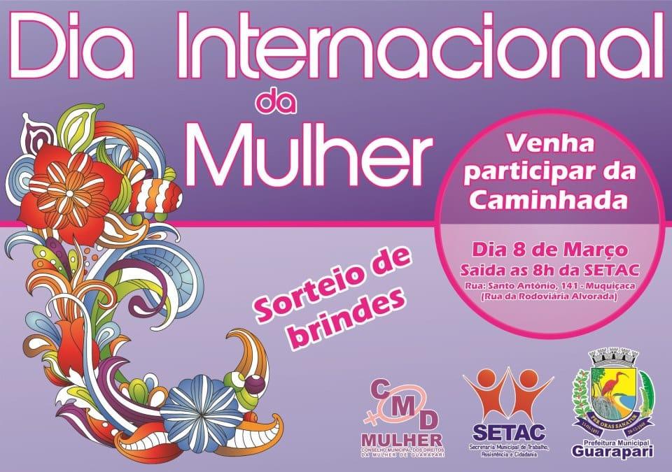 Panfleto de divulgação do evento. Foto: Divulgação.