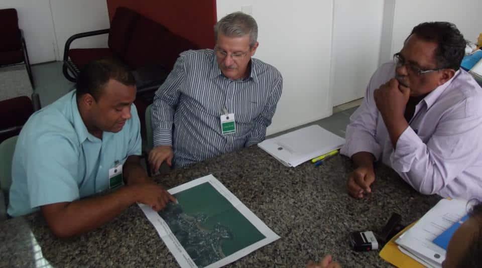 Audiência aconteceu na Superintendência Patrimônio União no Estado do Espírito Santo. Foto: Divulgação.
