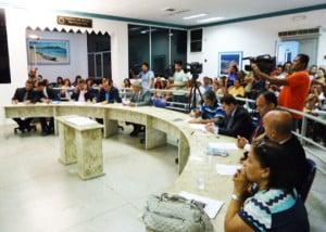 Vereadores aprovaram o projeto por unanimidade.