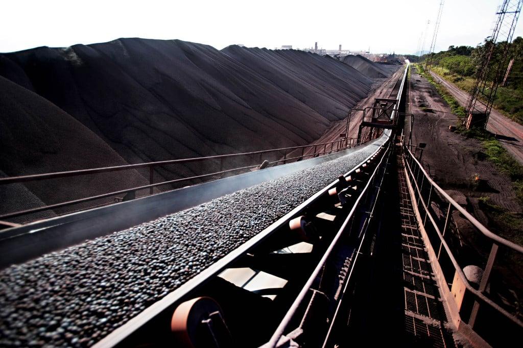 Minério de ferro.