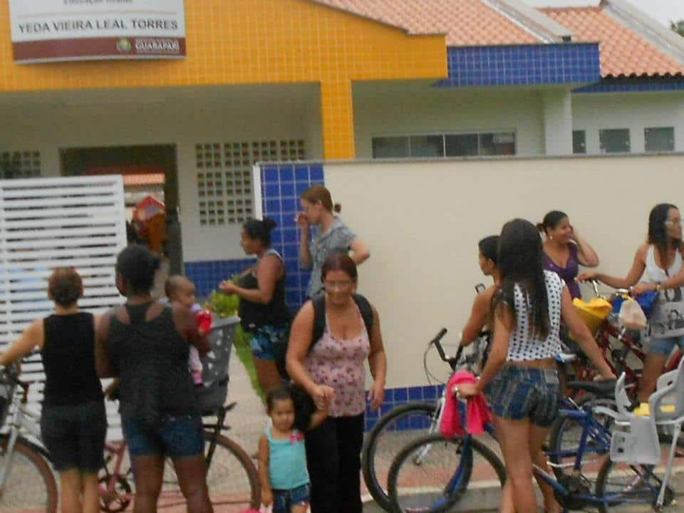 Amanhã o protesto será na Câmara. Foto: Luciana Gonçalves.
