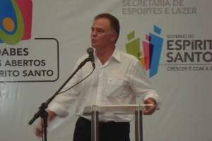 Casagrande garantiu a importância de investimentos em Guarapari.