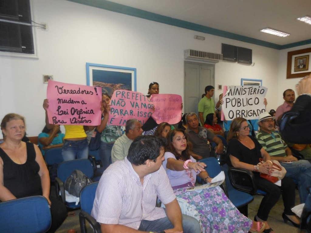 Manifestantes protestam na Câmara. Foto: Roberta Bourguignon,