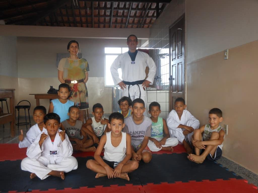 Crianças adoram as aulas. Foto: Jamille Scopel.