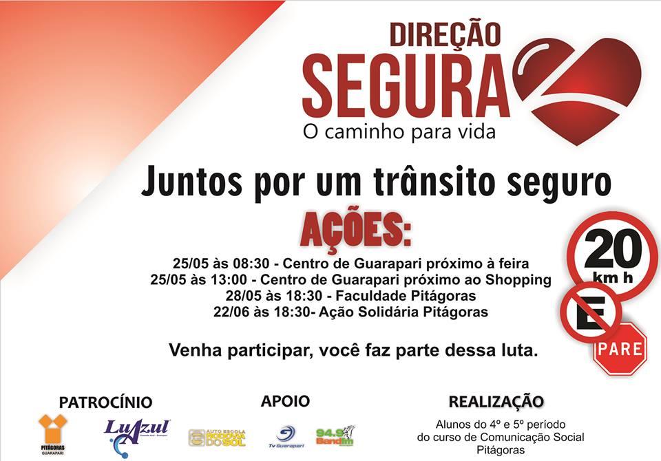 Campanha começa neste sábado (25). Foto: Divulgação.