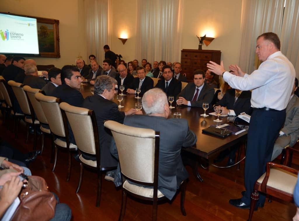 Reunião aconteceu em Vitória. Foto: SECOM.