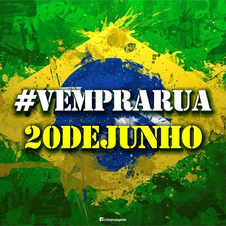 Hoje o Brasil vai parar. Foto: Criale Propaganda.