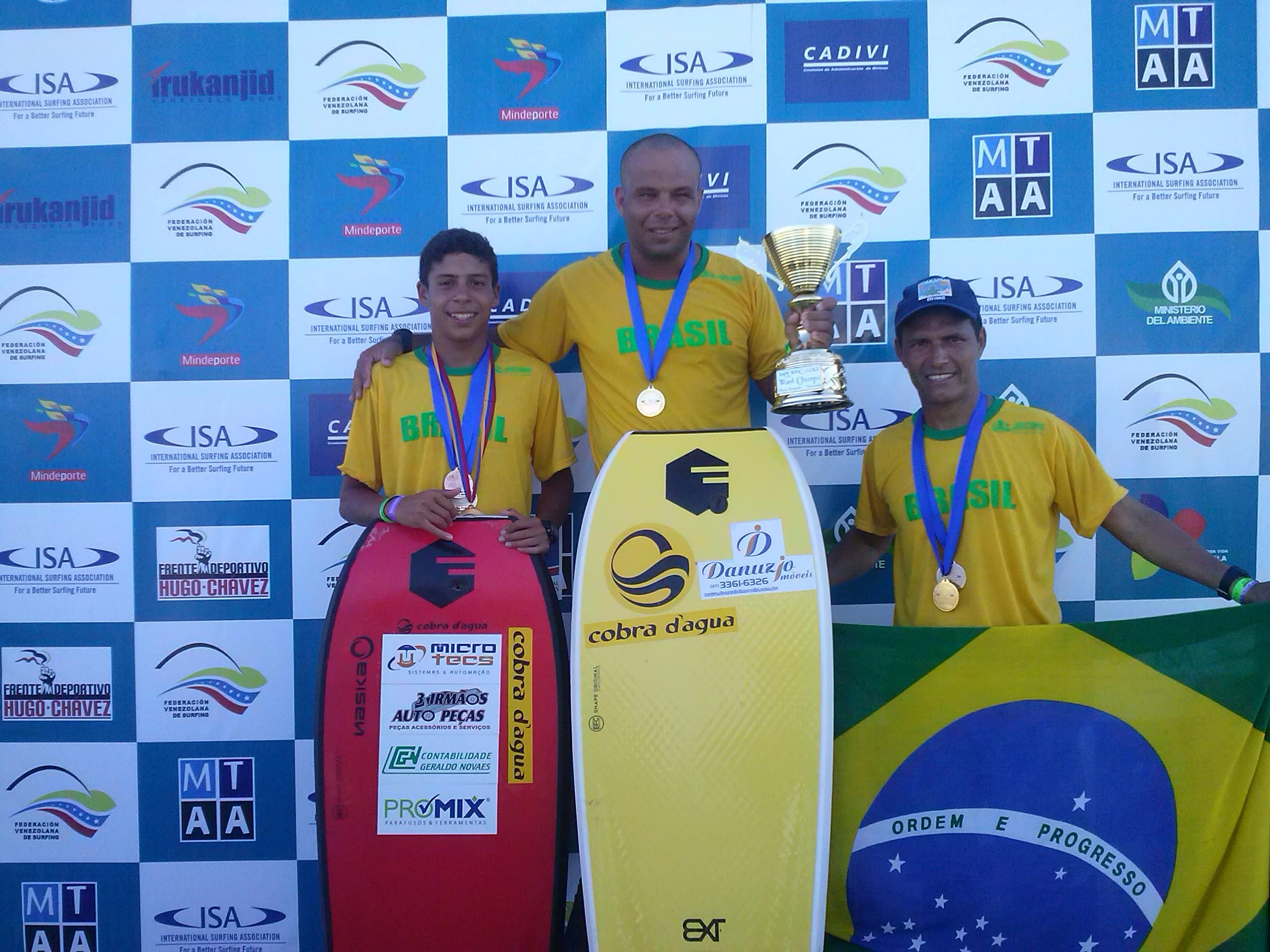 Marcyus, Wendel, Renato