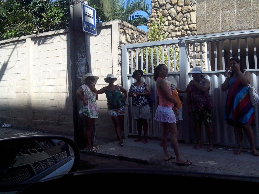 Pontos estão menos movimentados na Praia do Morro. Foto: Jamille Scopel.