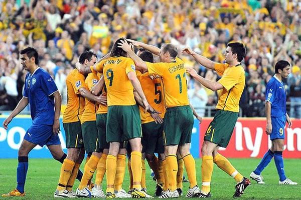 Seleção australiana treinará no estado. Foto: Amerios.