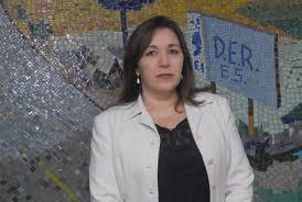 Maria Tereza pediu para os capixabas ficarem em casa. Foto: DER-ES.