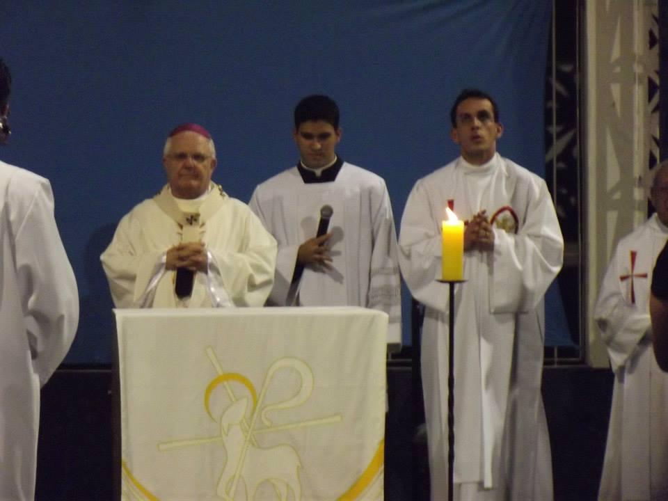 O seminarista está sempre presente nas missas da Matriz São Pedro, em Muquiçaba, e em celebrações do Estado.