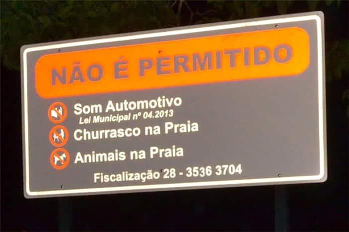 Turistas poderão saber sobre o que pode ou não na cidade. Foto: Ascom/PMA