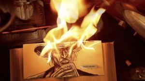Malária (Animação, 5 min., SP), de Edson Oda. Sinopse: Esta é a história de Fabiano, um jovem mercenário contratado para matar a Morte.