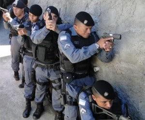 Foram cumpridos quatro mandados de busca e apreensão na região Norte de Guarapari.
