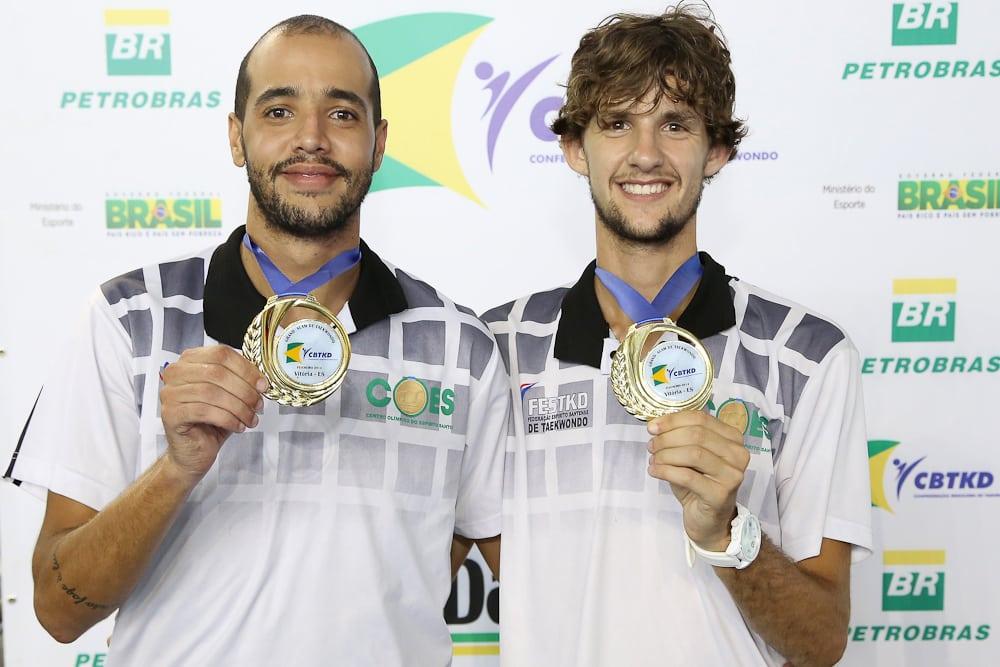 Lucas e Charlles estão na seleção brasileira. Foto: Sesport.