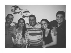 Renato Ferraz, Roberta Bourguignon, Wilcler Carvalho Lopes, Jamille Scopel e Vinícius Rangel formam o time do Portal 27.