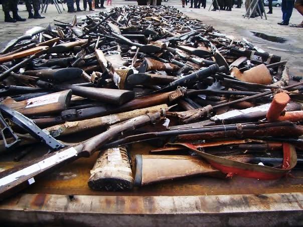 Em 2013, ações desenvolvidas pelas polícias Civil e Militar possibilitaram a apreensão de 4.254 armas de fogo no Espírito Santo.