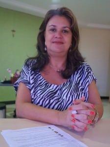 Diana Margara, secretaria de educação.