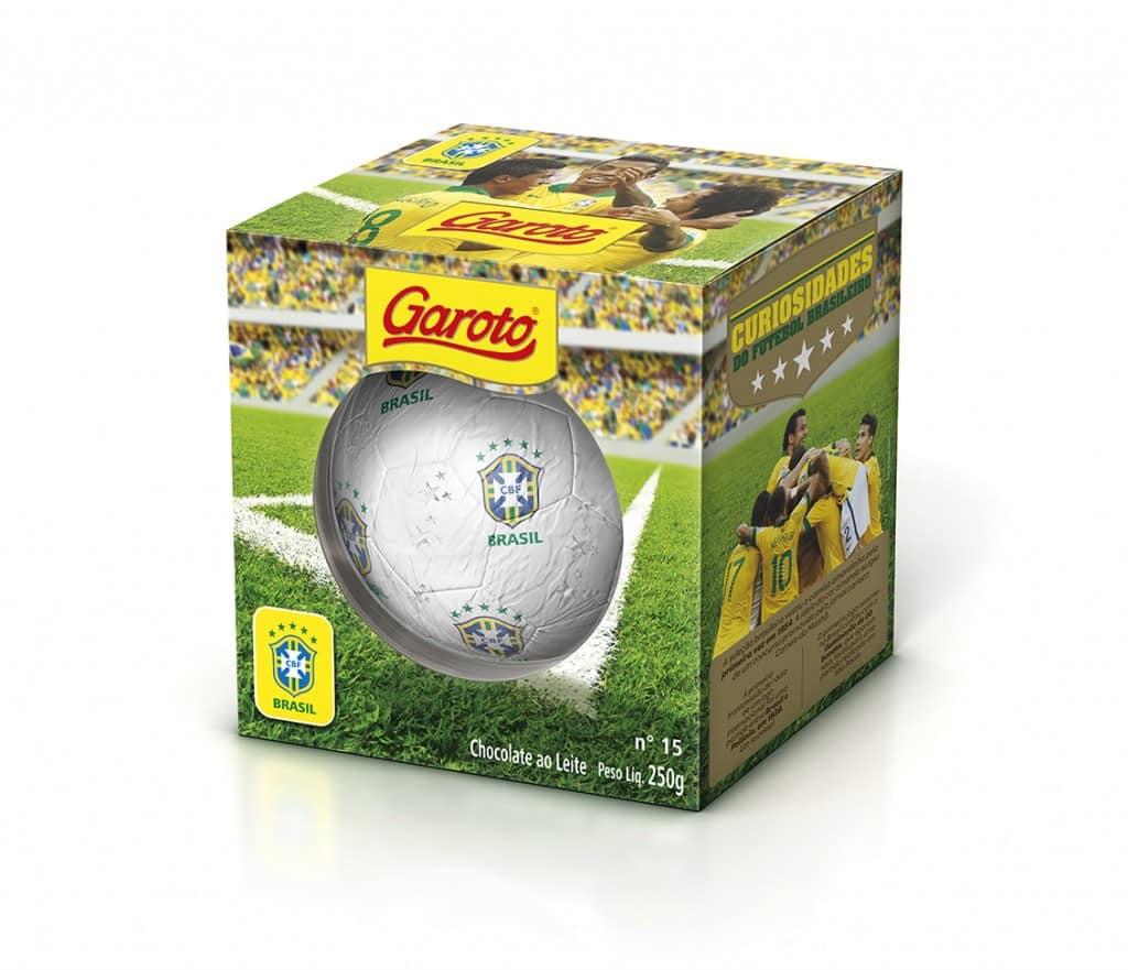 Réplica de uma bola de futebol, produto celebra o patrocínio da marca à Seleção Brasileira, e será vendido em todo o País até o fim da Copa do Mundo da FIFA