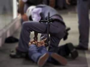 Douglas Barcelos Nunes foi detido e encaminhado ao DPJ da cidade.   Imagem Ilustrativa.