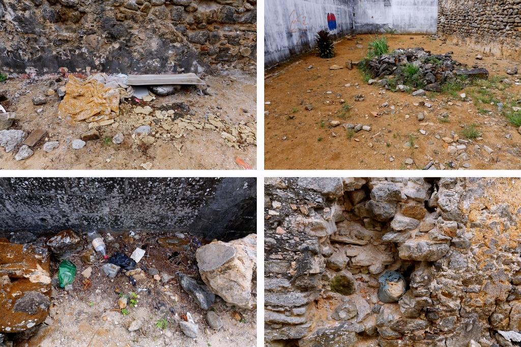 Ruínas Guarapari > Lixo, Pichações e outros desleixos > Fotos: Marcelo Moryan