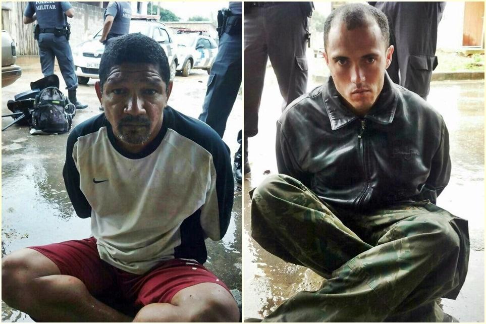 Todos os detidos já possuem passagens pela Polícia.