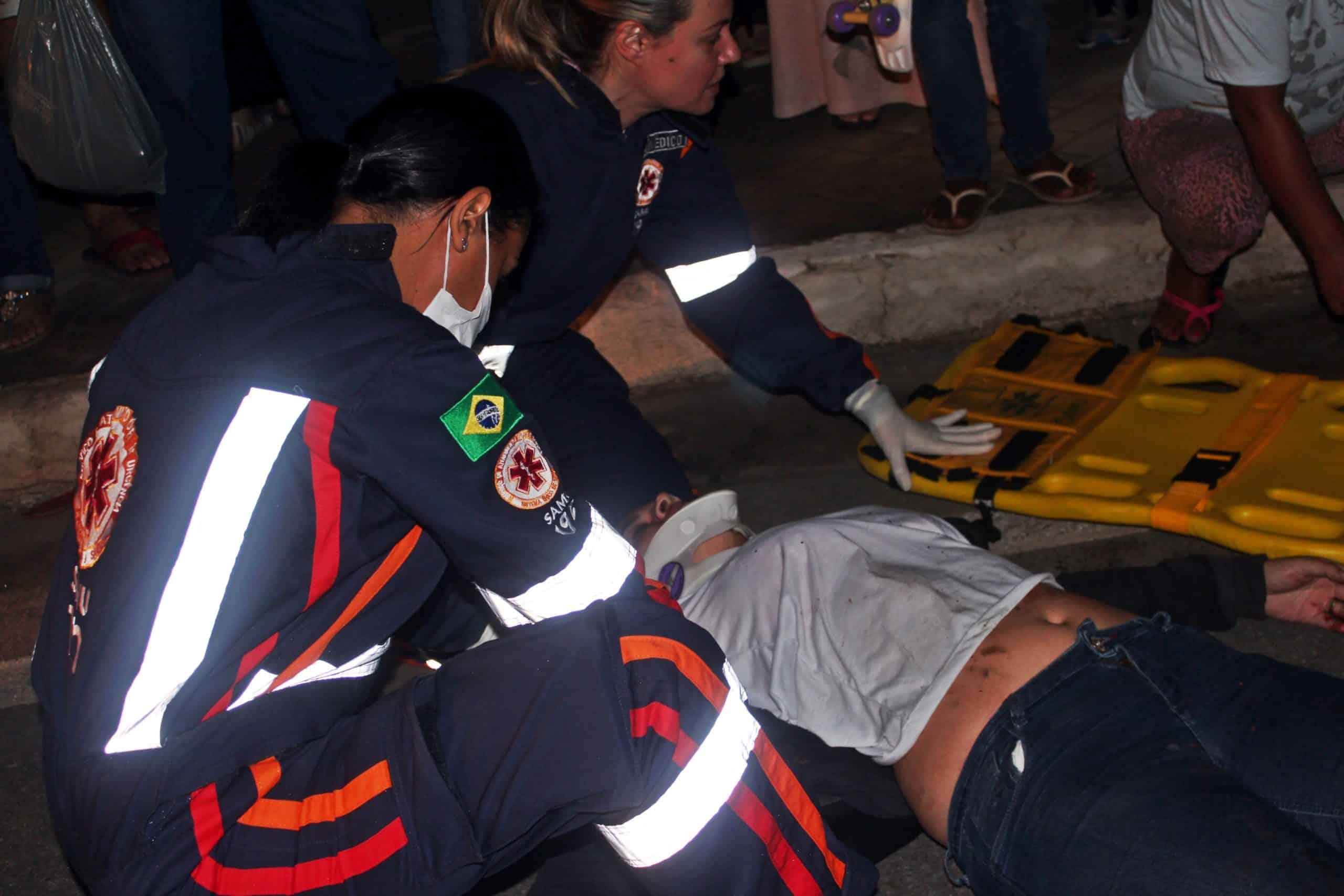 Sara foi encaminhada para a Unidade de Pronto Atendimento de Guarapari com ferimentos leves