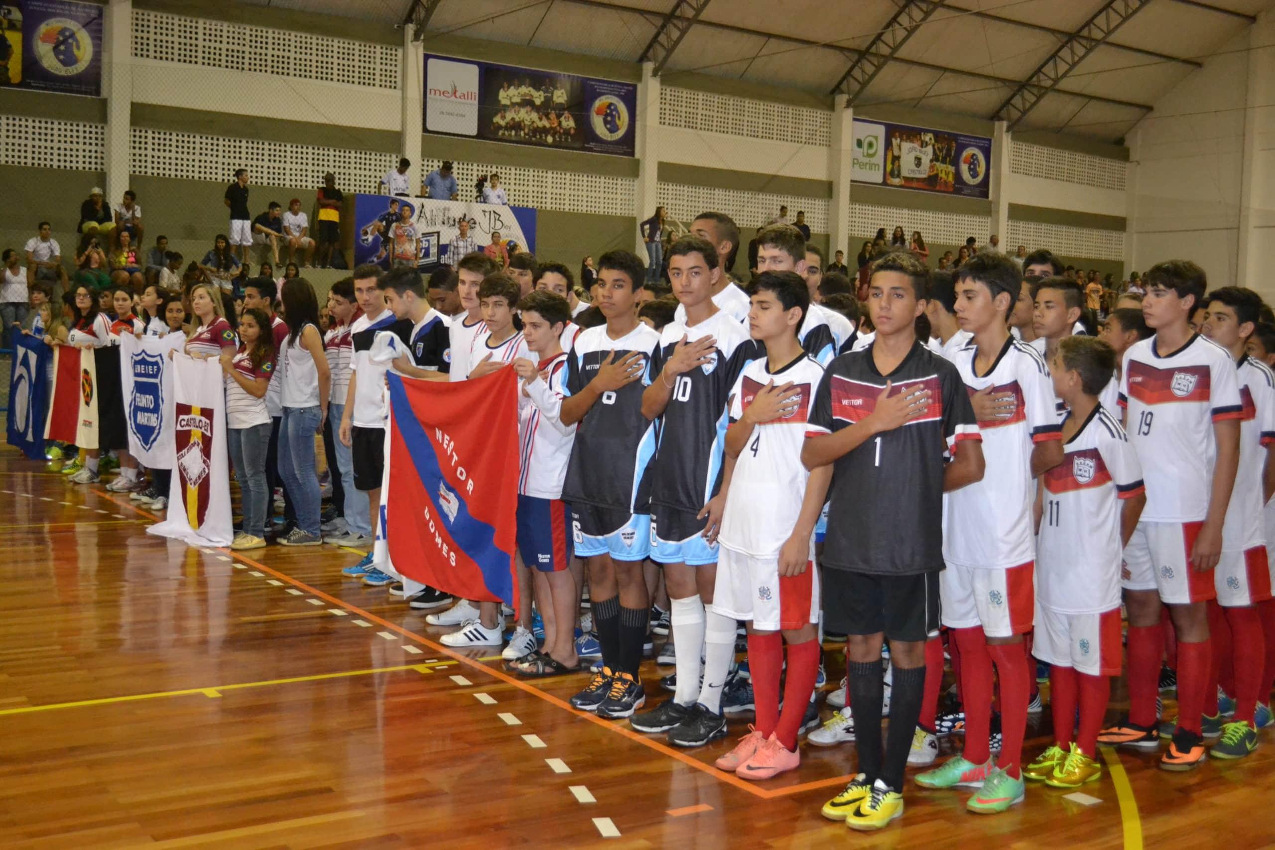 Os campeões estaduais terão a oportunidade de representar o Estado nos Jogos da Juventude