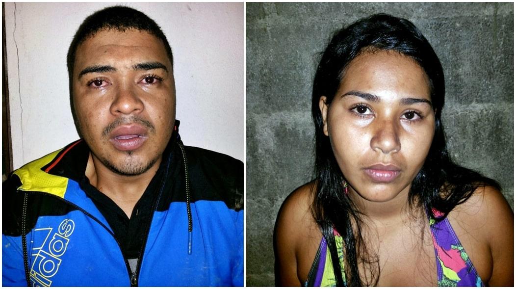 Além de João, sua esposa também participava do comércio. O casal estava com mandado de prisão em aberto.