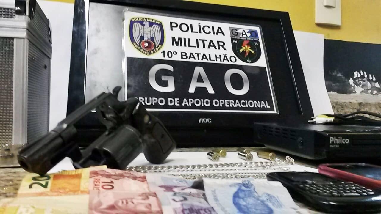 O homem é suspeito de comandar os assaltos na região do bairro Muquiçaba