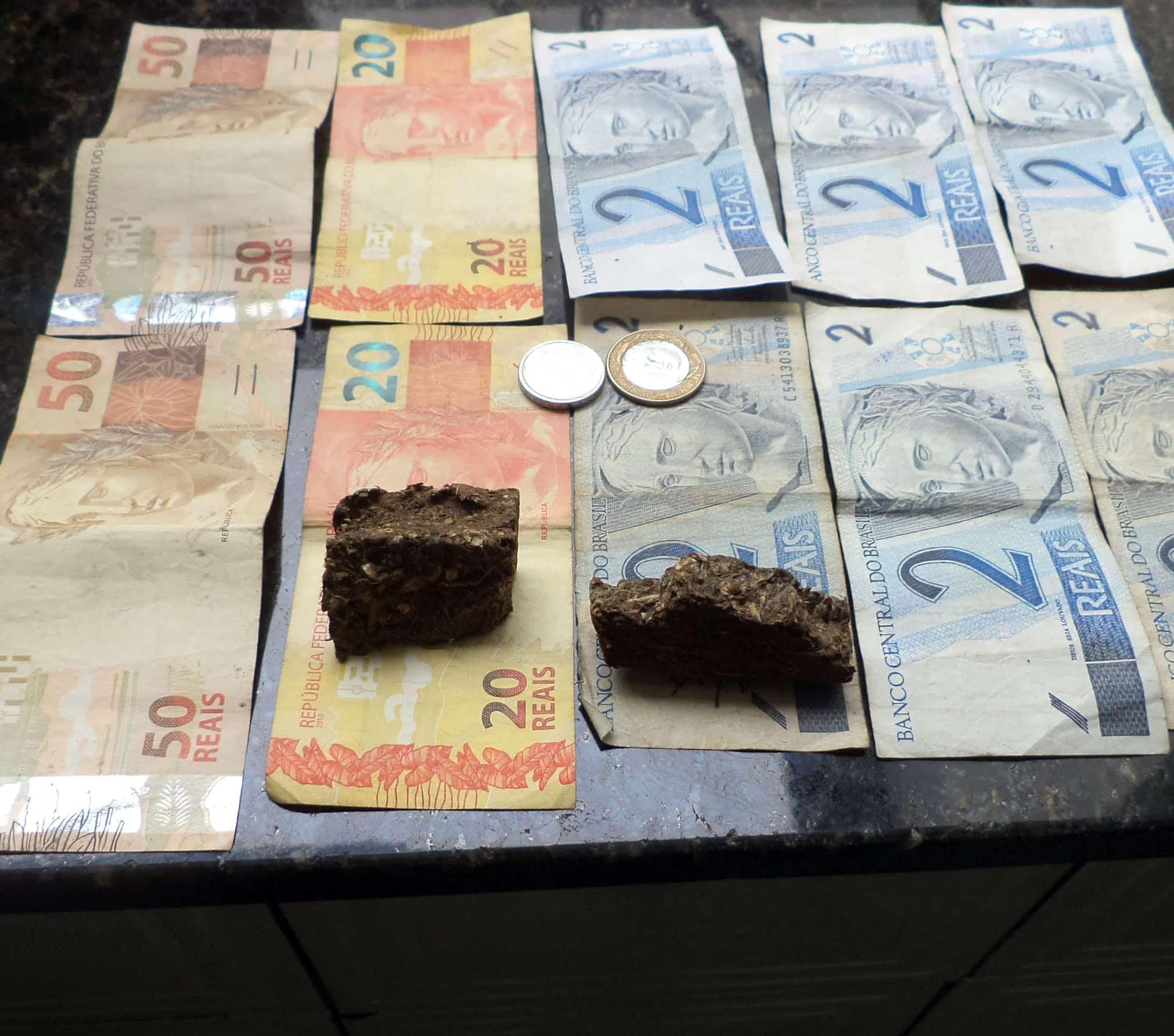 Contra o suspeito já havia um inquérito em aberto com objetivo de apurar o tráfico de drogas