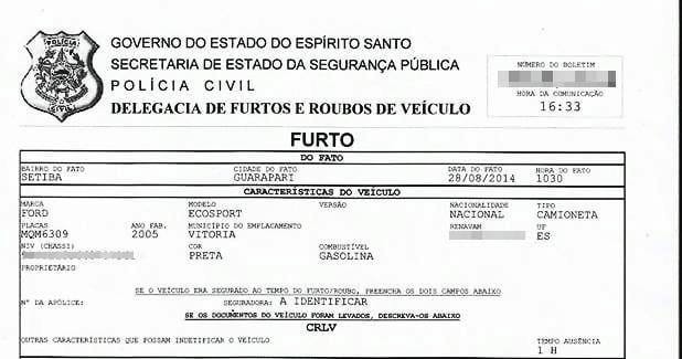 O será investigado pela Delegacia Patrimonial de Guarapari