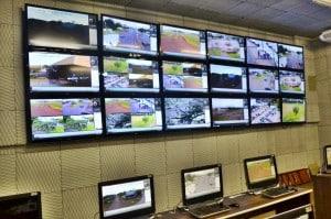O sistema de videomonitoramento no Município de Guarapari encontra-se em fase final de implantação