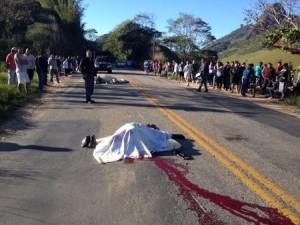 O segundo acidente foi registrado durante a madrugada de domingo (07), na ES 164, próximo à localidade de Prosperidade.