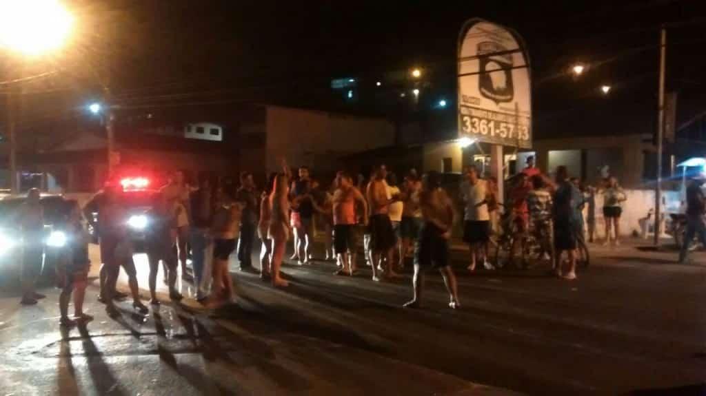 O atropelamento em Santa Mônica revoltou os moradores da região. Foto: Renato Ferraz/Portal 27