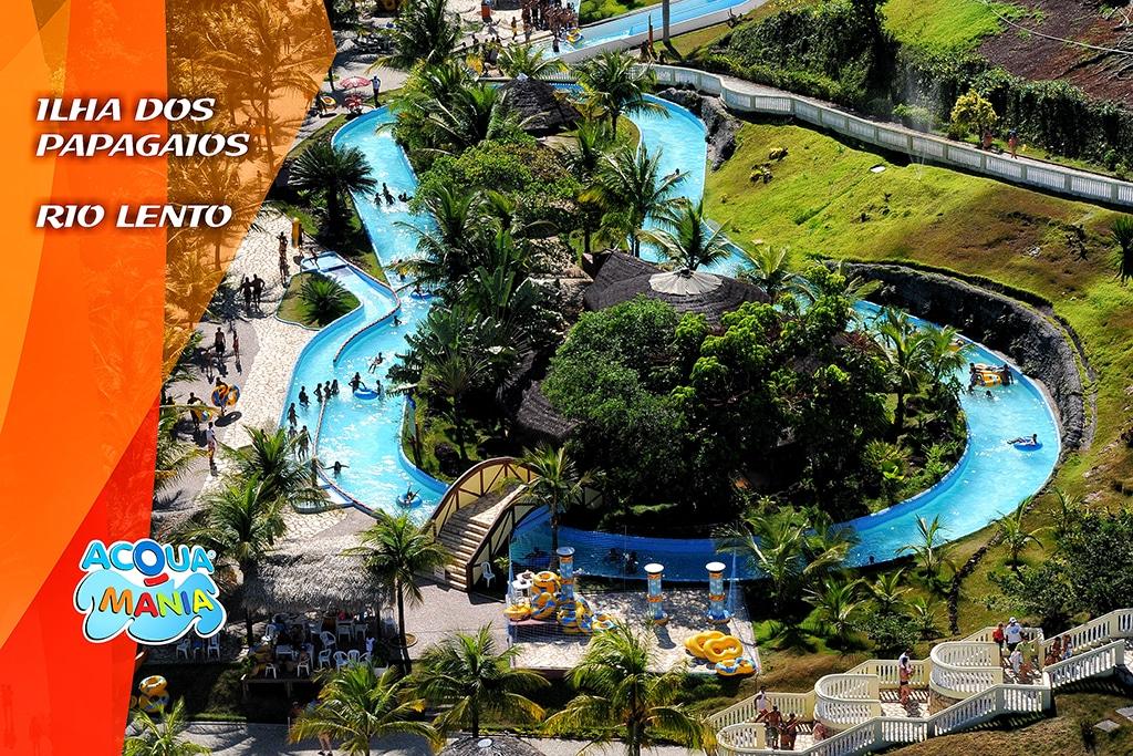 Ilha dos Papagaios - Parque Aquático Acquamania