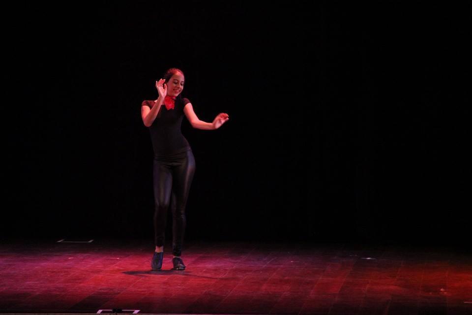 Isabella foi selecionada entre outros 300 dançarinos de todo o país. Foto: Acervo particular