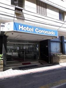 O hotel ficou interditado por poucas horas na manhã de hoje. Foto: João Thomazelli/Portal 27