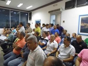 Cerca de 40 corretores de imóveis foram à Câmara na tarde de hoje. Foto: João Thomazelli/Portal 27
