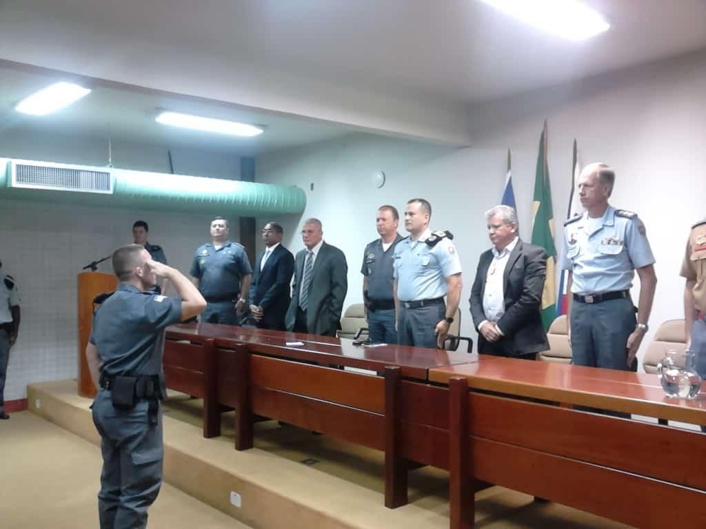 A troca de comando foi realizada na tarde de hoje no Sesc de Guarapari. foto: João Thomazelli/Portal 27