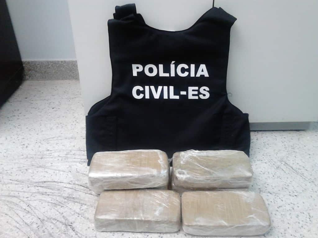 Foram apreendidos seis quilos de crack durante a operação. Foto: João Thomazelli/Portal 27