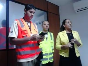 A empresa apresentou o aplicativo para jornalistas da cidade na manha de hoje. foto: João Thomazelli/Portal 27