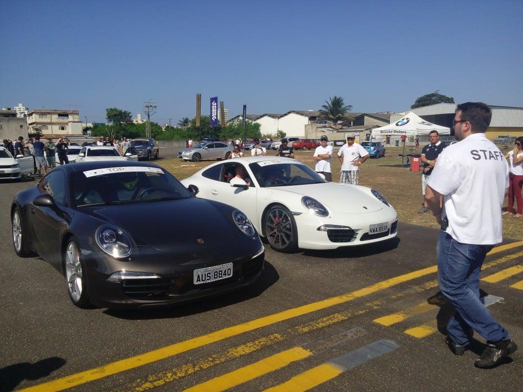 Marcos Hygino, empresário e um dos responsáveis pelo evento, disse que  é uma oportunidade para os proprietários de carros super esportivos usufruírem dos seus possantes em local seguro.