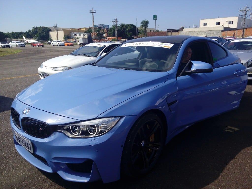 """""""Ele me trás um equilíbrio e segurança muito grande"""" disse empolgado o empresário Leonardo Lima, 49 anos, dono do veículo."""